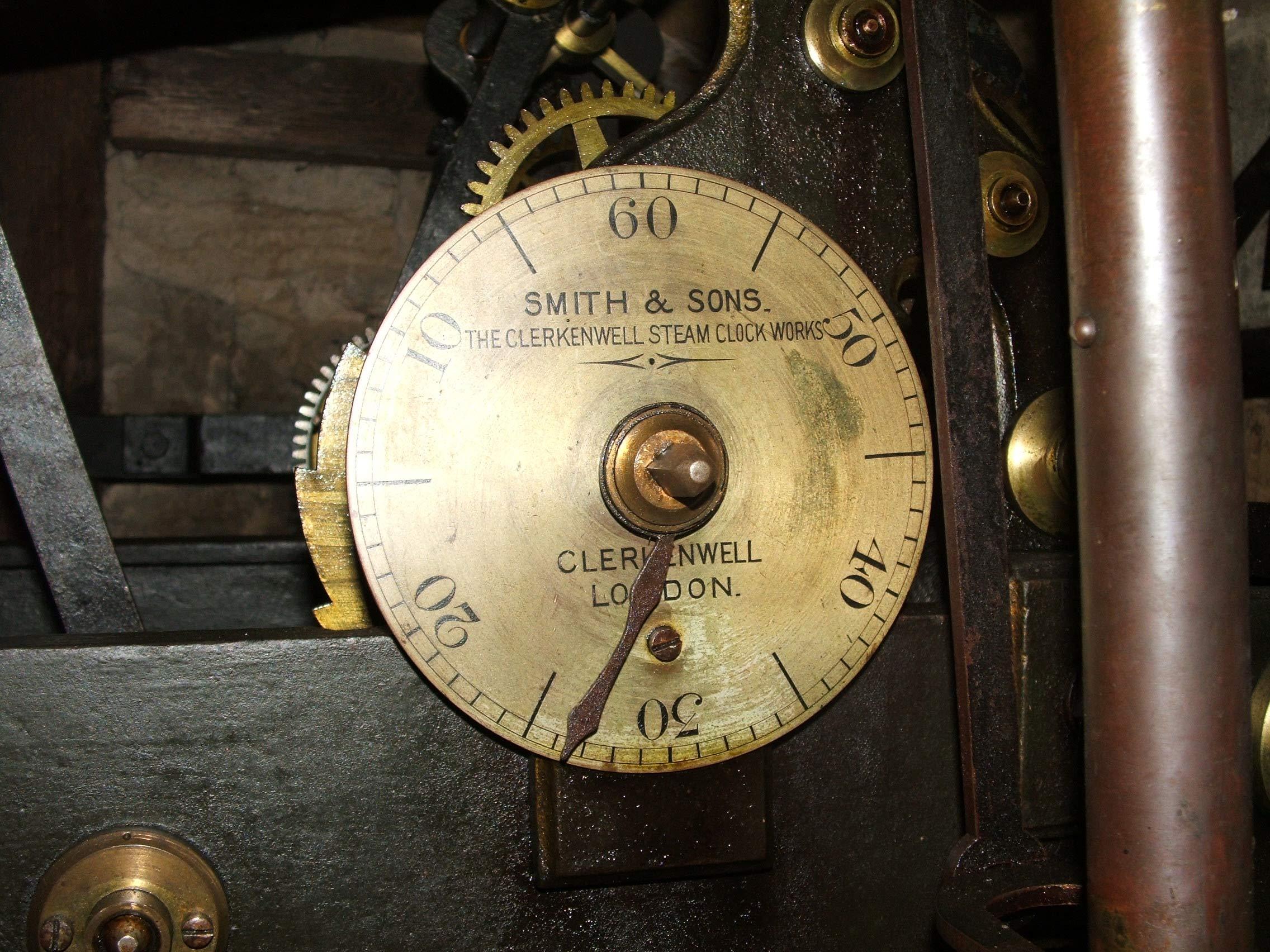 Clock Makers Plate